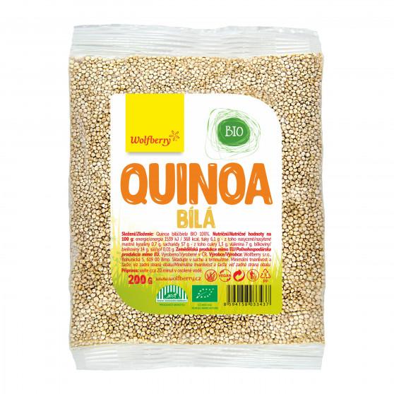 Quinoa bílá BIO 200g Wolfberry