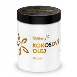 Kokosový olej panenský BIO 300ml Wolfberry
