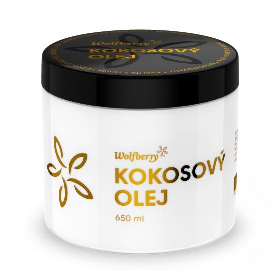 Kokosový olej panenský BIO 650ml Wolfberry