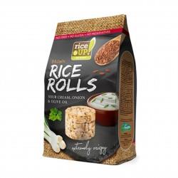 Rýžové minichlebíčky smetana, cibule, olivový olej 50 g Rice Up