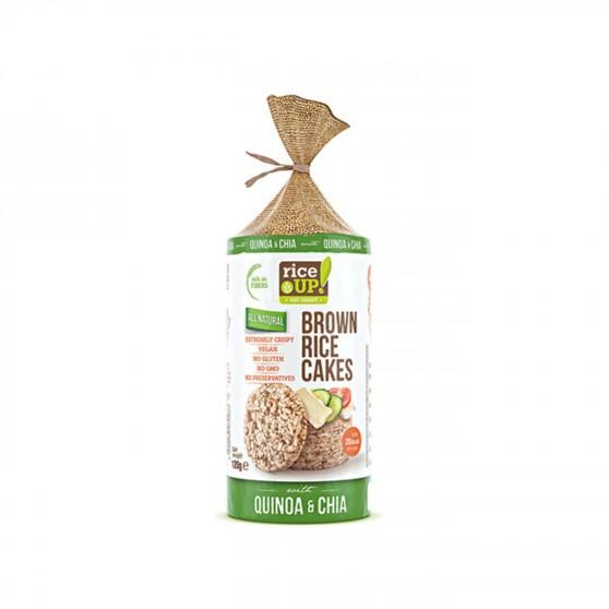 Rýžové chlebíčky chia, quinoa 120 g Rice Up