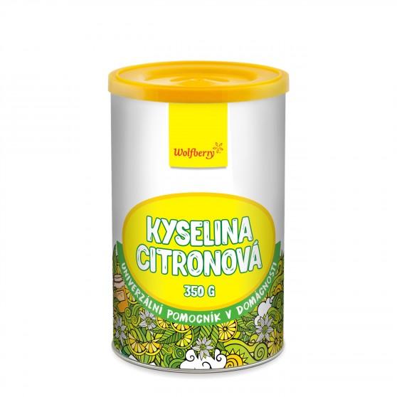 Kyselina citronová 350g Wolfberry