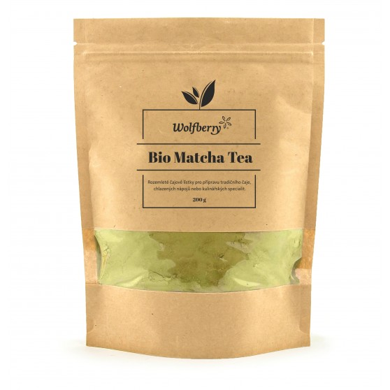 Matcha tea BIO 200g Wolfberry