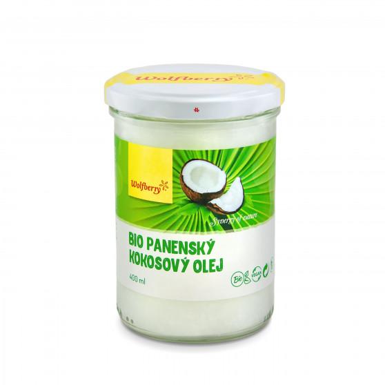Kokosový olej panenský BIO 400ml Wolfberry