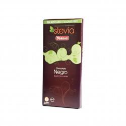Hořká čokoláda Negro slazená sladidlem z rostliny STEVIA 100g Torras
