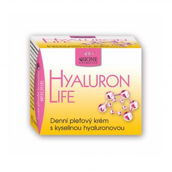 Denní pleťový krém s kyselinou hyaluronovou Hyaluron life 51 ml Bione Cosmetics