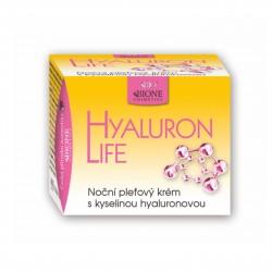 Noční pleťový krém s kyselinou hyaluronovou Hyaluron life 51 ml Bione Cosmetics