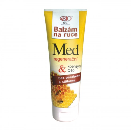 Regenerační balzám na ruce Medový + Koenzym + Q10 205 ml Bione Cosmetics