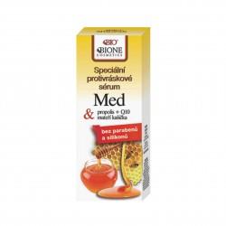 Speciální protivráskové sérum MED + propolis + Q10 + mateří kašička 40 ml Bione Cosmetics