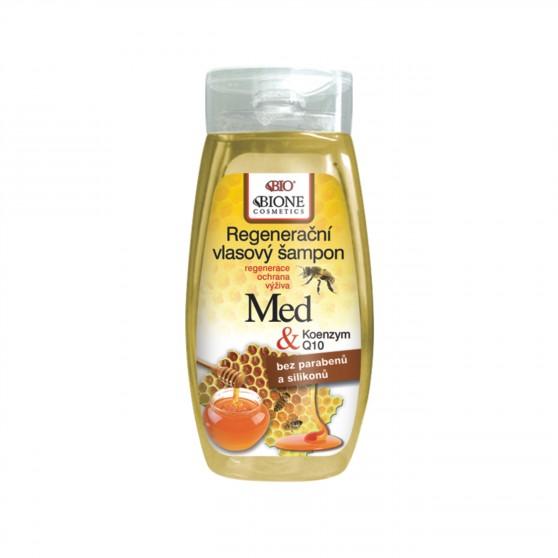 Regenerační vlasový šampon MED + Koenzym Q10 260 ml Bione Cosmetics