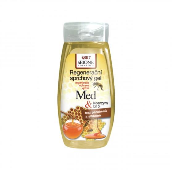 Regenerační sprchový gel MED + Koenzym Q10 260 ml Bione Cosmetics