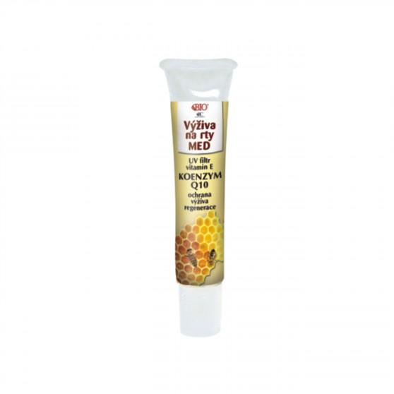 Výživa na rty MED koenzym Q 10 tuba 10 ml Bione Cosmetics