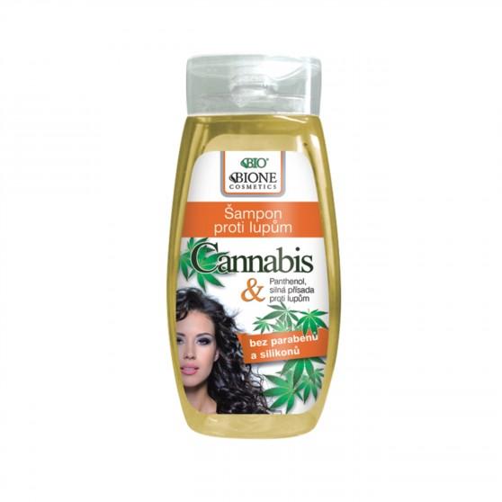 Šampon proti lupům Cannabis 260 ml Bione Cosmetics