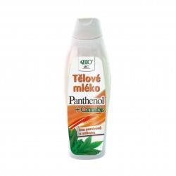 Tělové mléko panthenol + Cannabis 500 ml Bione Cosmetics