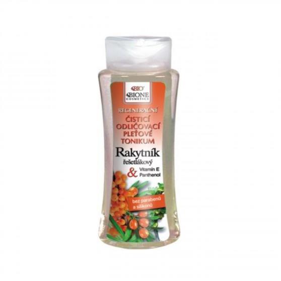 Čistící odličovací pleťové tonikum Rakytník 255 ml Bione Cosmetics
