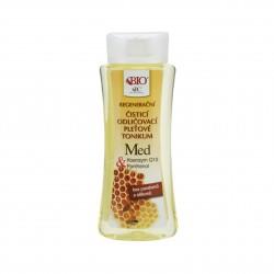 Čistící odličovací pleťové tonikum Med + Q10 255 ml Bione Cosmetics