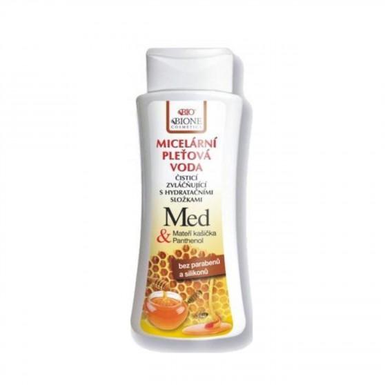 Micelární pleťová voda Med + Q10 255 ml Bione Cosmetics