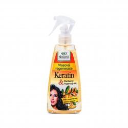 Vlasová regenerace Keratin + arganový olej s panthenolem 260 ml Bione Cosmetics