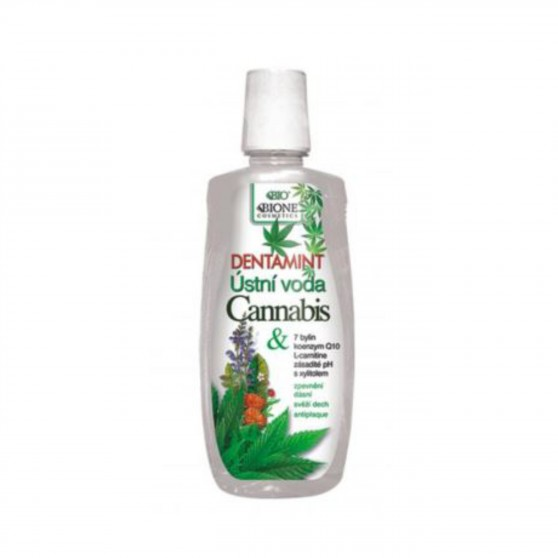 Dentamint ústní voda Cannabis 500 ml Bione Cosmetics