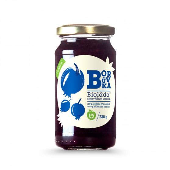 Bioláda borůvka BIO 230g Koldokol