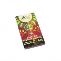 Čokoládka MINI se zelenou kávou a guaranou RAW BIO 15g Lifefood