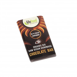 Čokoládka MINI 95% kakao se skořicí RAW BIO 15g Lifefood