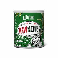 Crawnchies špenátové s česnekem BIO RAW 30g Lifefood