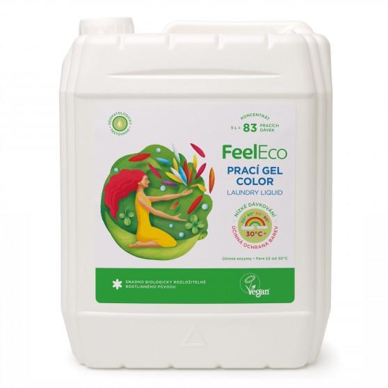 Prací gel Color 5l Feel Eco