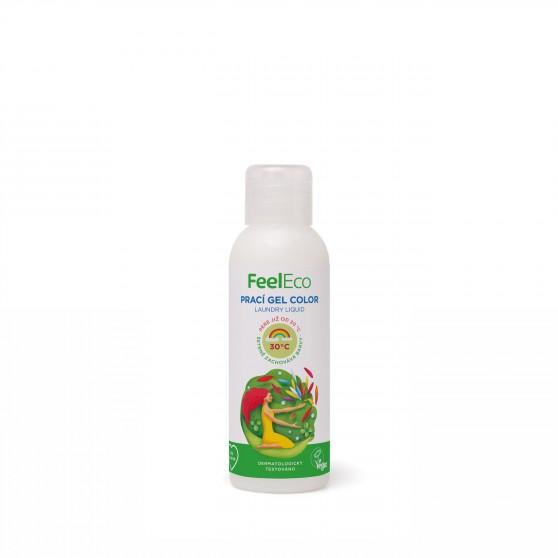Prací gel Color 100ml Feel Eco