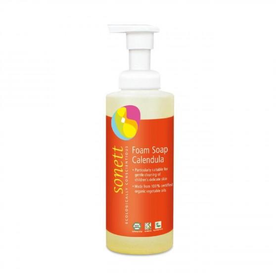 Pěnové mýdlo pro děti s měsíčkem 200 ml Sonett