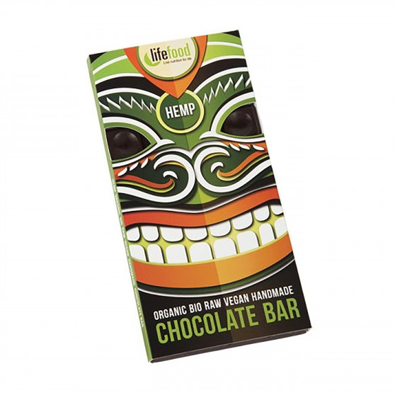 Čokoláda s konopným semínkem RAW BIO 70g Lifefood