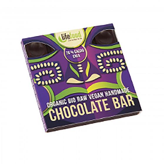 Čokoláda 70% kakao s chia semínky RAW BIO 35g Lifefood