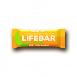 Lifebar plus třešňová s macou a baobabem BIO 47g Lifefood