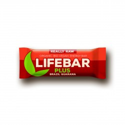 Lifebar plus brazil a guarana BIO 47g Lifefood