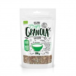 Green granola BIO 200 g Diet Food