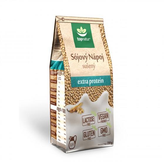 Sojový nápoj extraprotein 350 g Topnatur