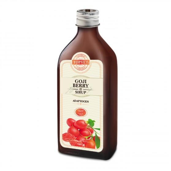 Goji berry sirup ve skle 250 ml Topvet