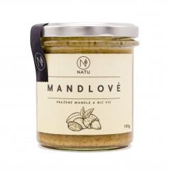 Mandlový krém pražený 140 g Natu