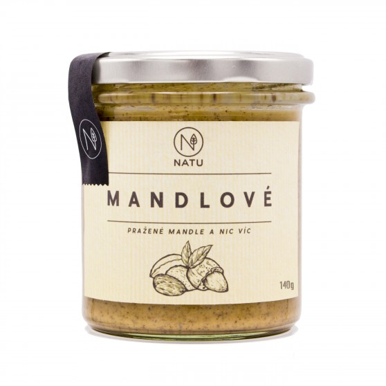 Mandlový krém pražený 300 g Natu