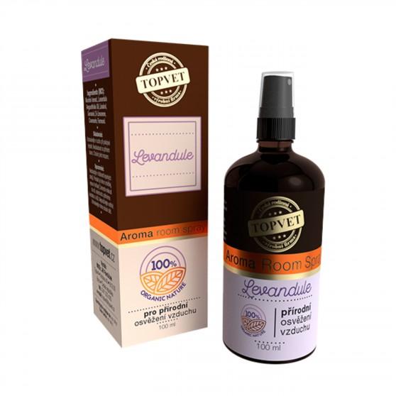Aroma Room Spray – Levandule 100 ml Topvet