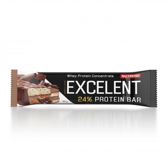 Tyčinka EXCELENT BAR DOUBLE čokoláda, nugát s brusinkami 85 g Nutrend