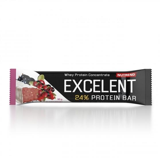 Tyčinka EXCELENT protein bar černý rybíz s brusinkami 85 g Nutrend