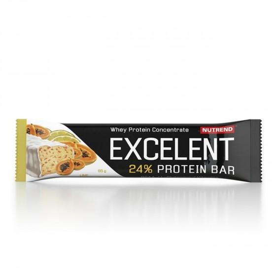 Tyčinka EXCELENT protein bar limetka s papájou 85 g Nutrend