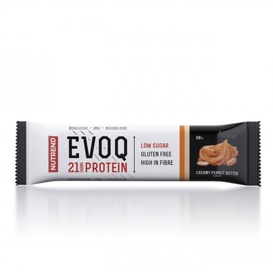 Tyčinka EVOQ arašídové máslo 60 g Nutrend