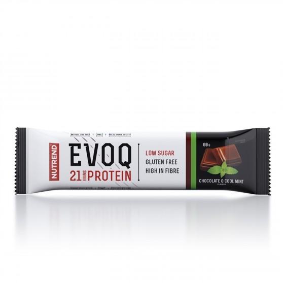 Tyčinka EVOQ čokoláda a máta 60 g Nutrend