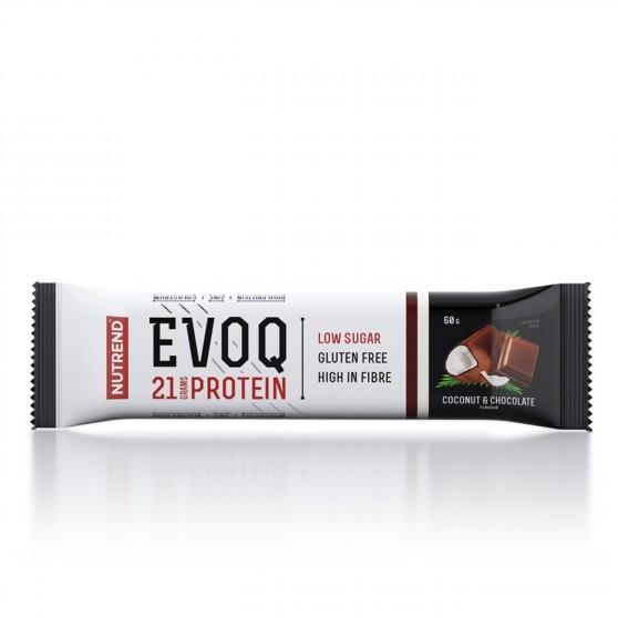 Tyčinka EVOQ kokos a čokoláda 60 g Nutrend