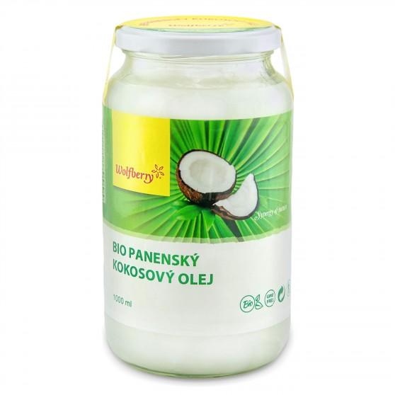 Kokosový olej panenský BIO 1l Wolfberry