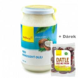 RBD Kokosový olej 900ml Wolfberry