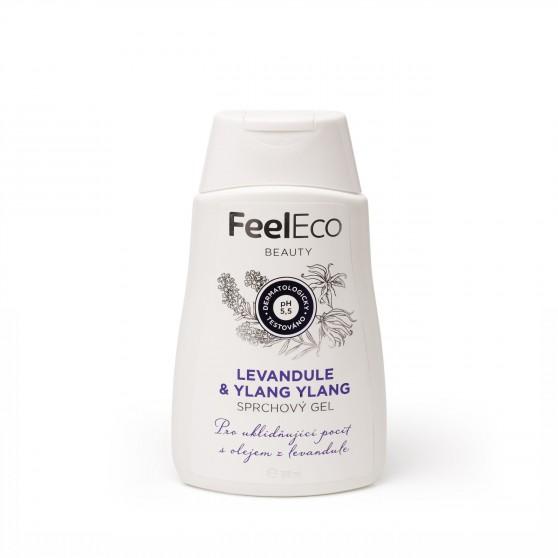 Sprchový gel Levandule a Ylang-ylang 300ml Feel Eco