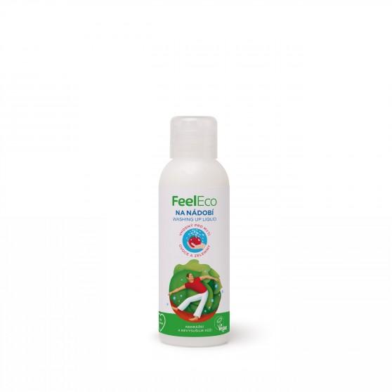 Prostředek na nádobí vhodný k mytí ovoce a zeleniny 100ml Feel Eco